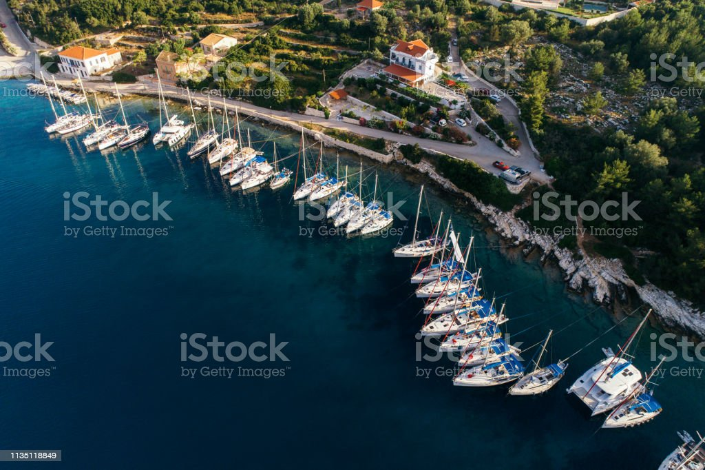 Discover Greece - Kefalonia (Cephalonia) island stock photo