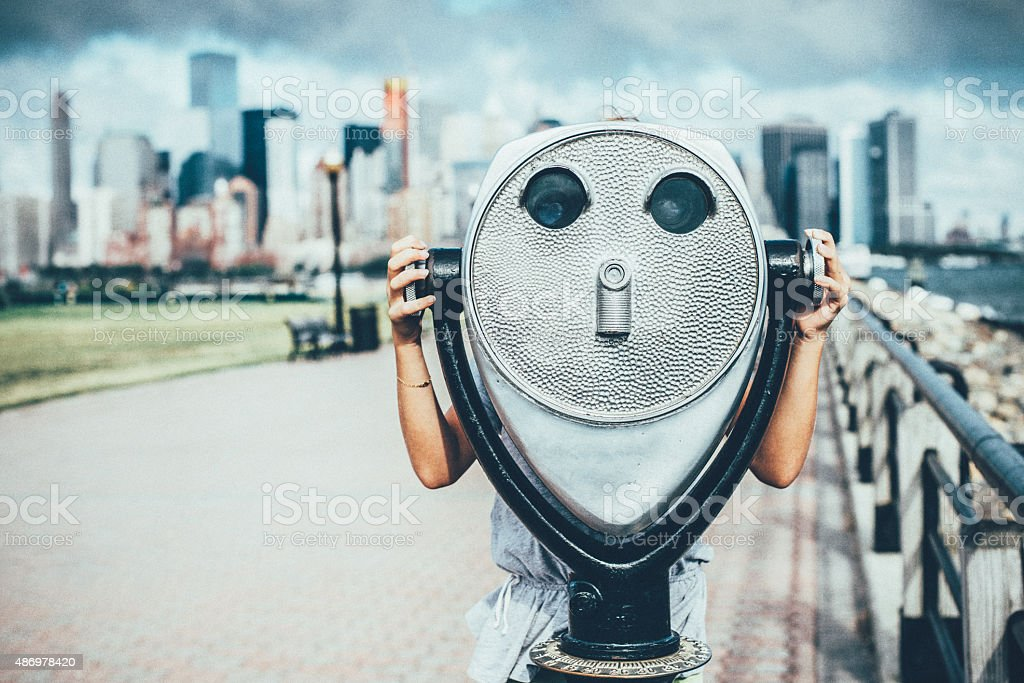 Discover New York City royalty-free stock photo