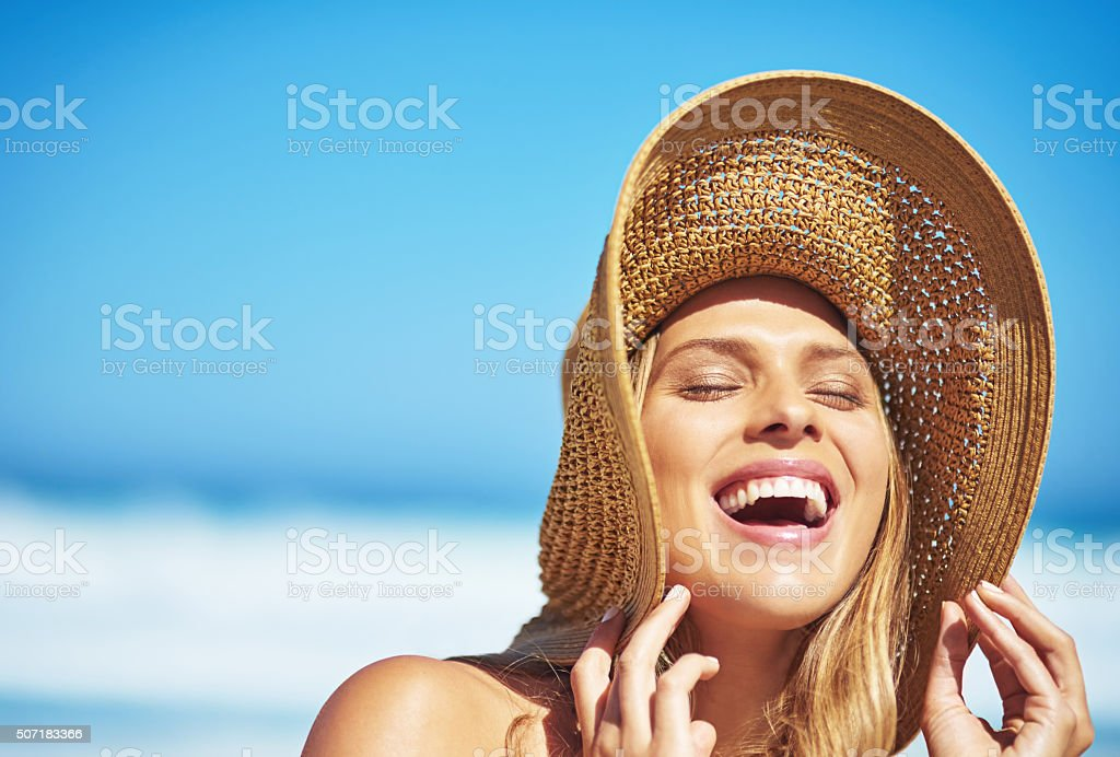 Discover the wonder of summer stock photo