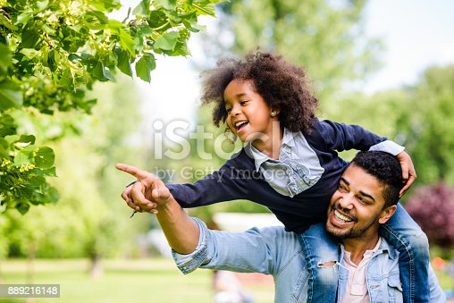 istock Discovering nature together. 889216148