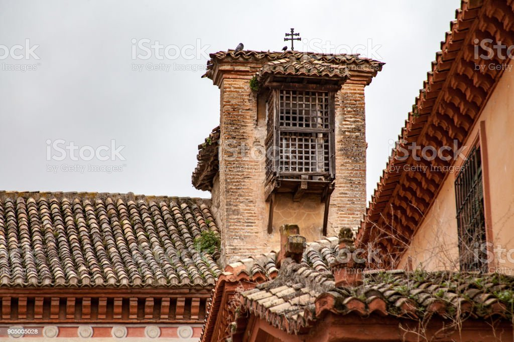Discovering Spain in February stock photo
