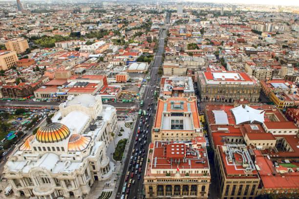 Discovery Mexico - Centro Historico stock photo