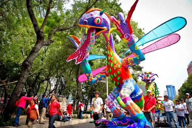 Ciudad de México del descubrimiento - foto de stock