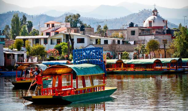 Discovery Mexico City - Xochimilco stock photo