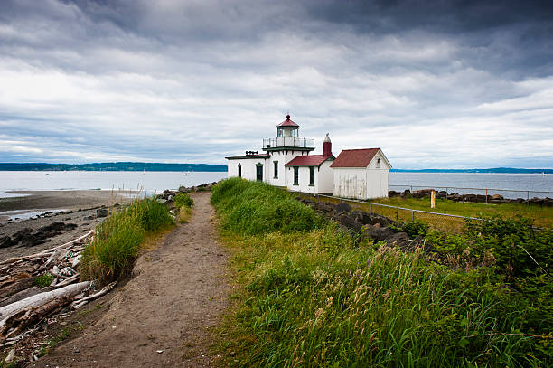 Discovery Park Lighthouse.