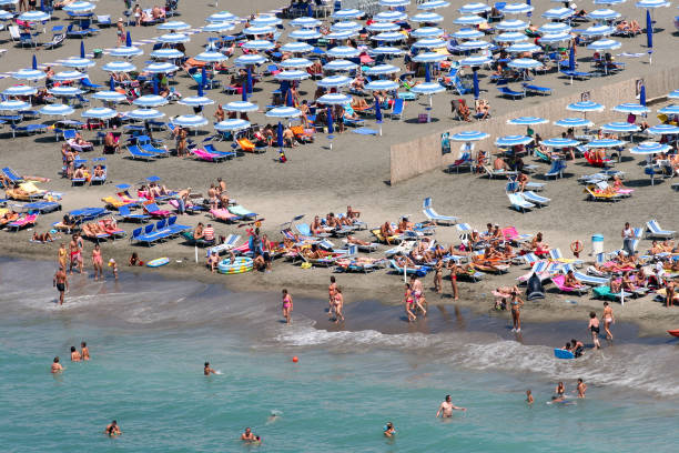 Discovery Rome - Beach stock photo