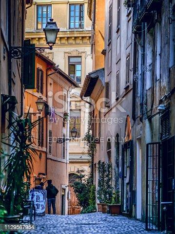 istock Discovery Rome - Jewish Ghetto 1129567954
