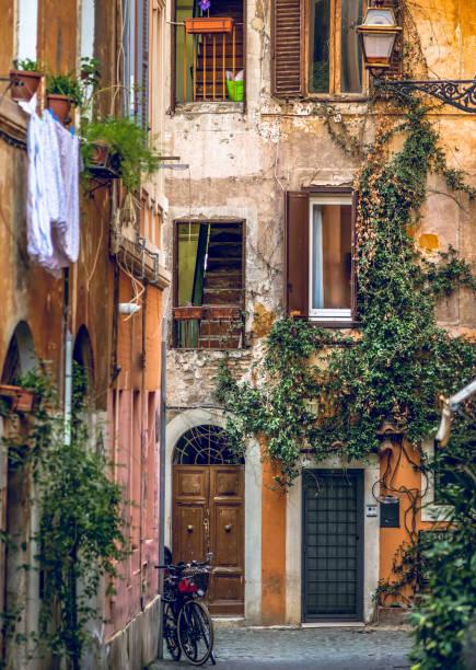 Discovery Rome - Trastevere stock photo