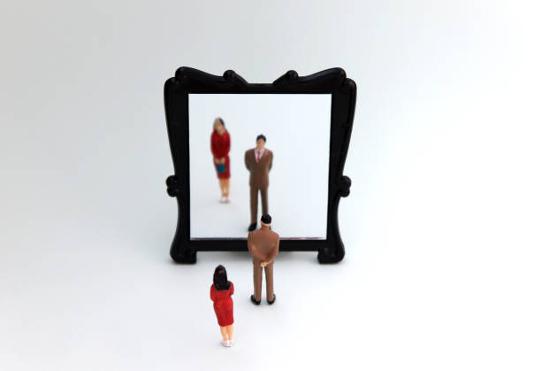 A discriminatory concept that looks at men and women in society. A discriminatory concept that looks at men and women in society. discriminatory stock pictures, royalty-free photos & images