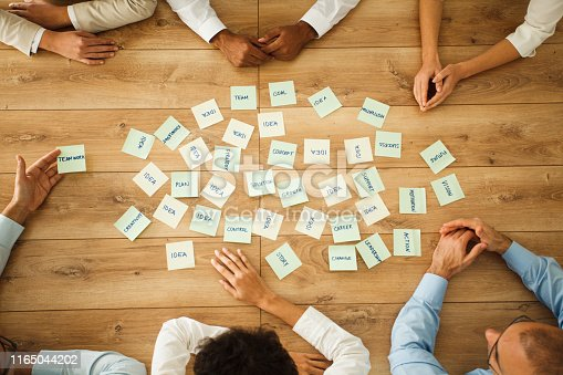 639198068 istock photo Discussing about new ideas 1165044202