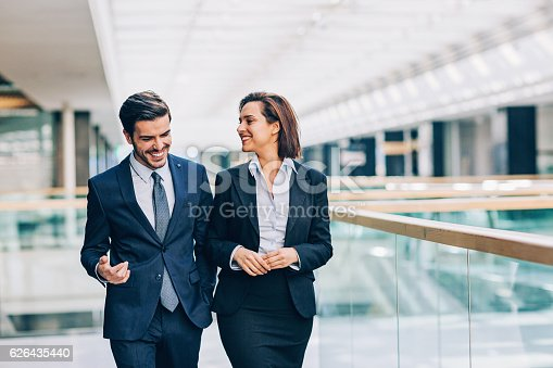 istock Discussing the business 626435440