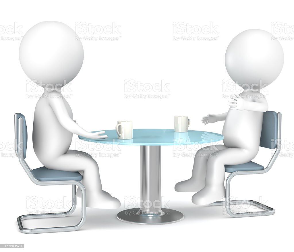 Discussion. royalty-free stock photo