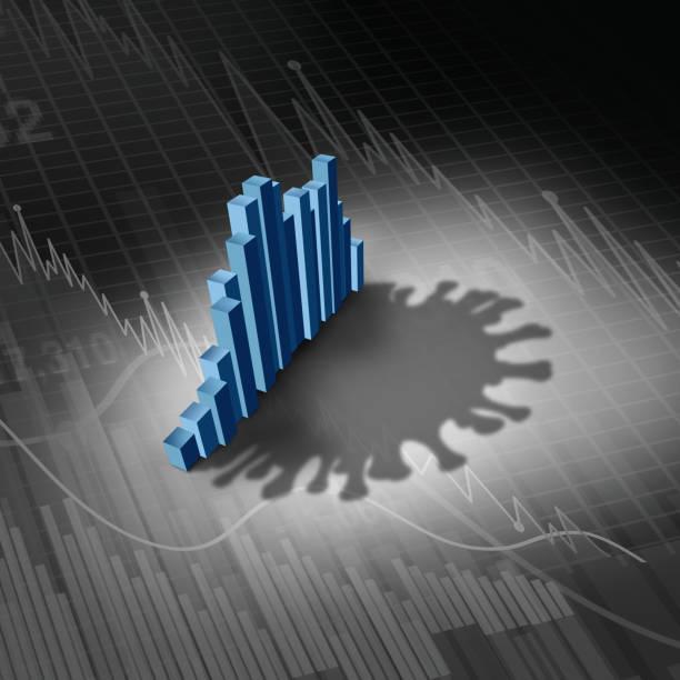 Disease And Economy stock photo