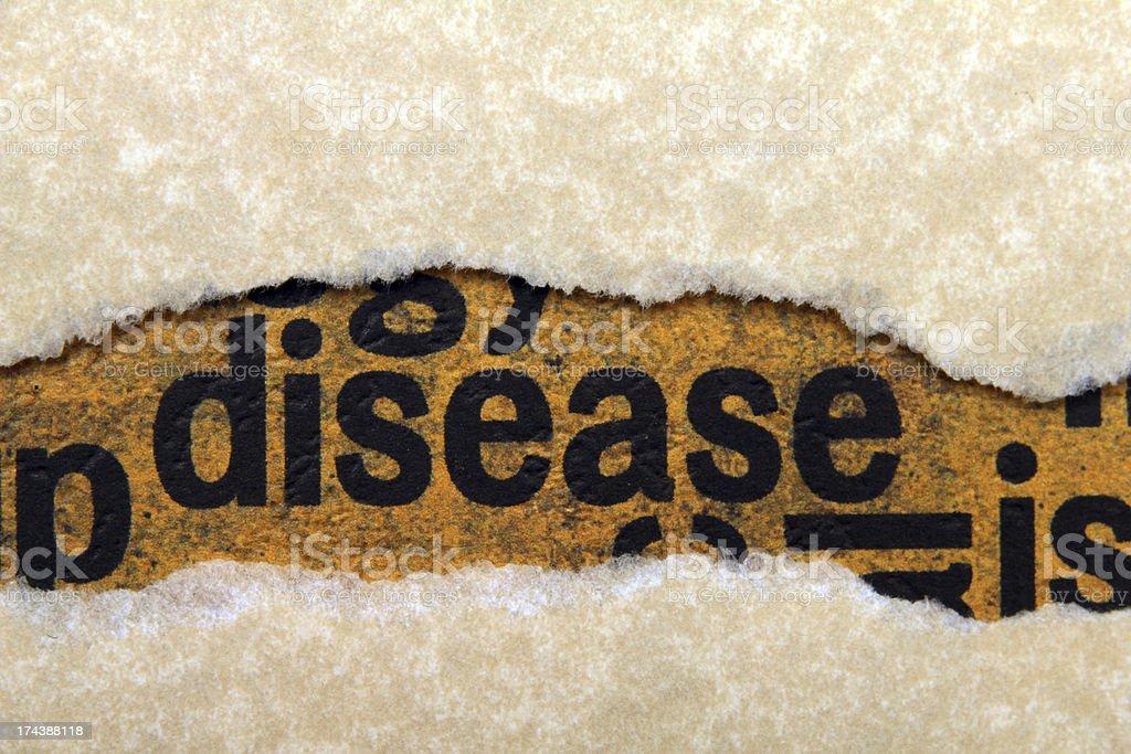 Disease royalty-free stock photo