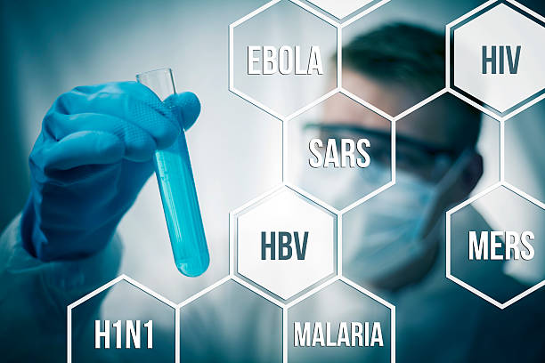 Disease research Medical research and chemistry looking to cure diseases epidemic stock pictures, royalty-free photos & images