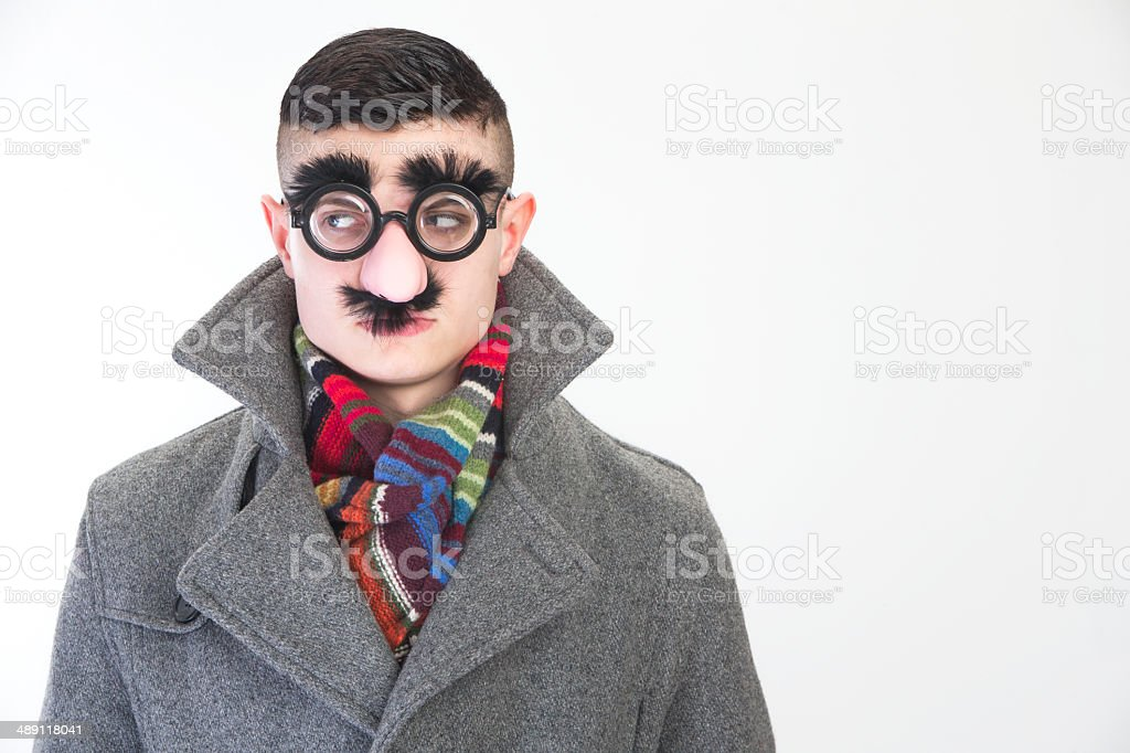 Disguise stock photo