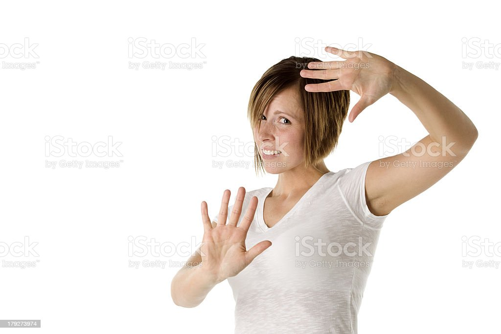 Disgusting Stay Away royalty-free stock photo