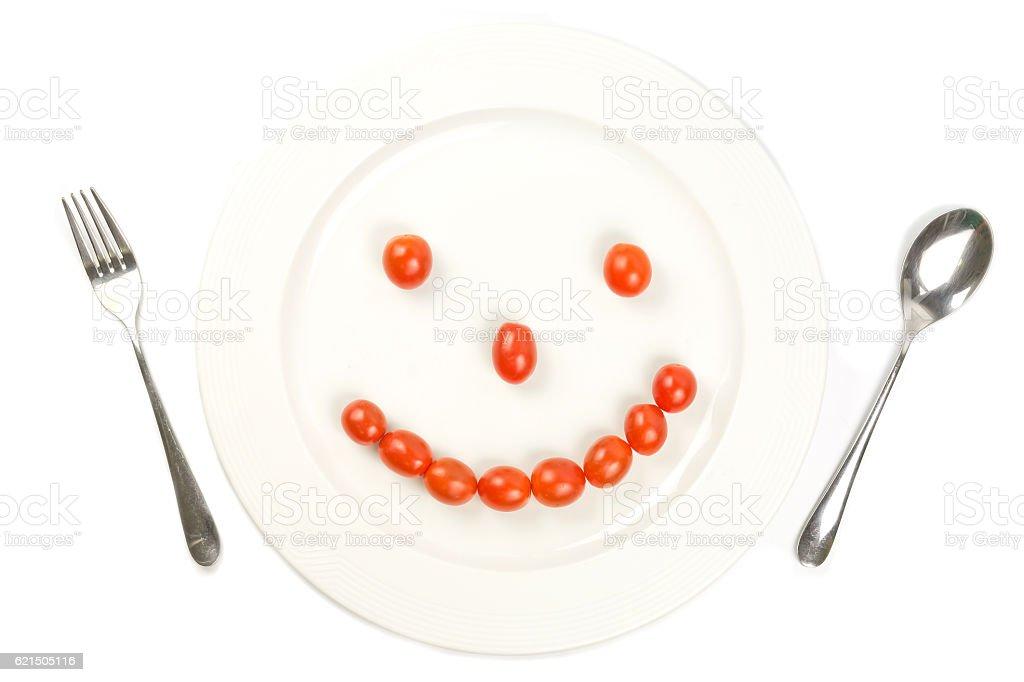 dish happy photo libre de droits