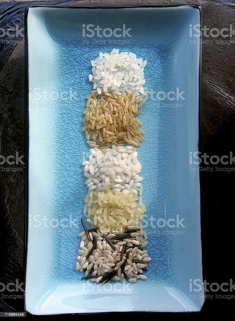 Dish of Rice royalty-free stock photo