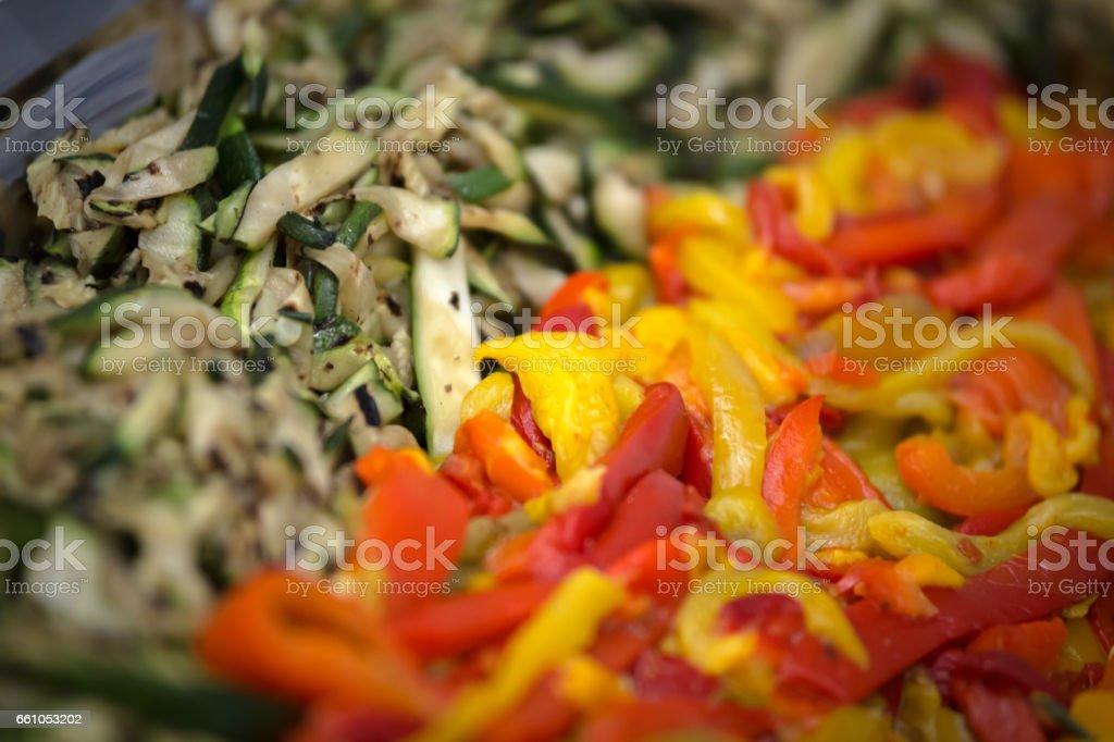 Dish of vegetable royalty-free stock photo
