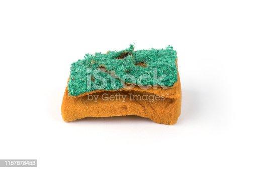 Worn sponge