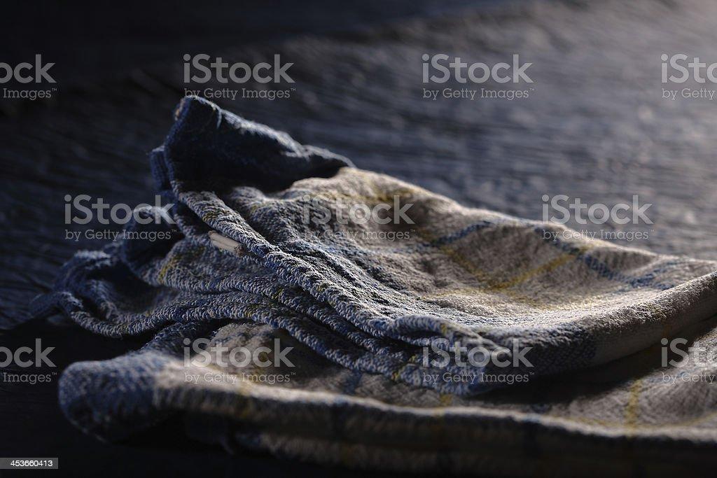 Dish towel royalty-free stock photo