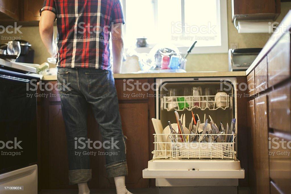 Dish Washing stock photo