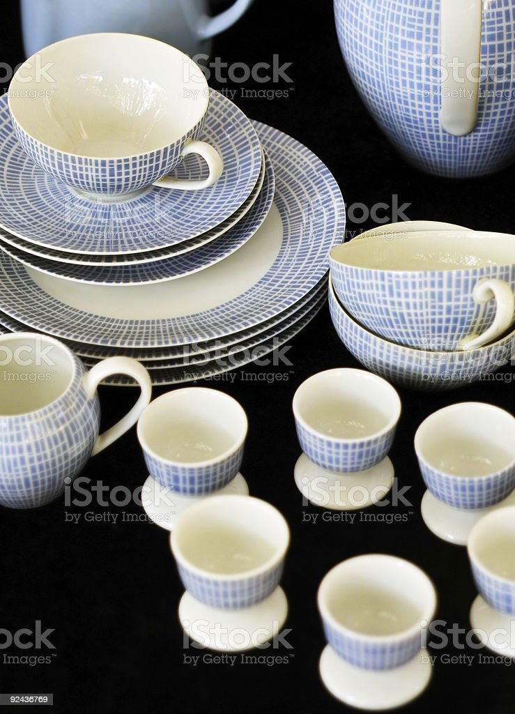 Dishes stock photo