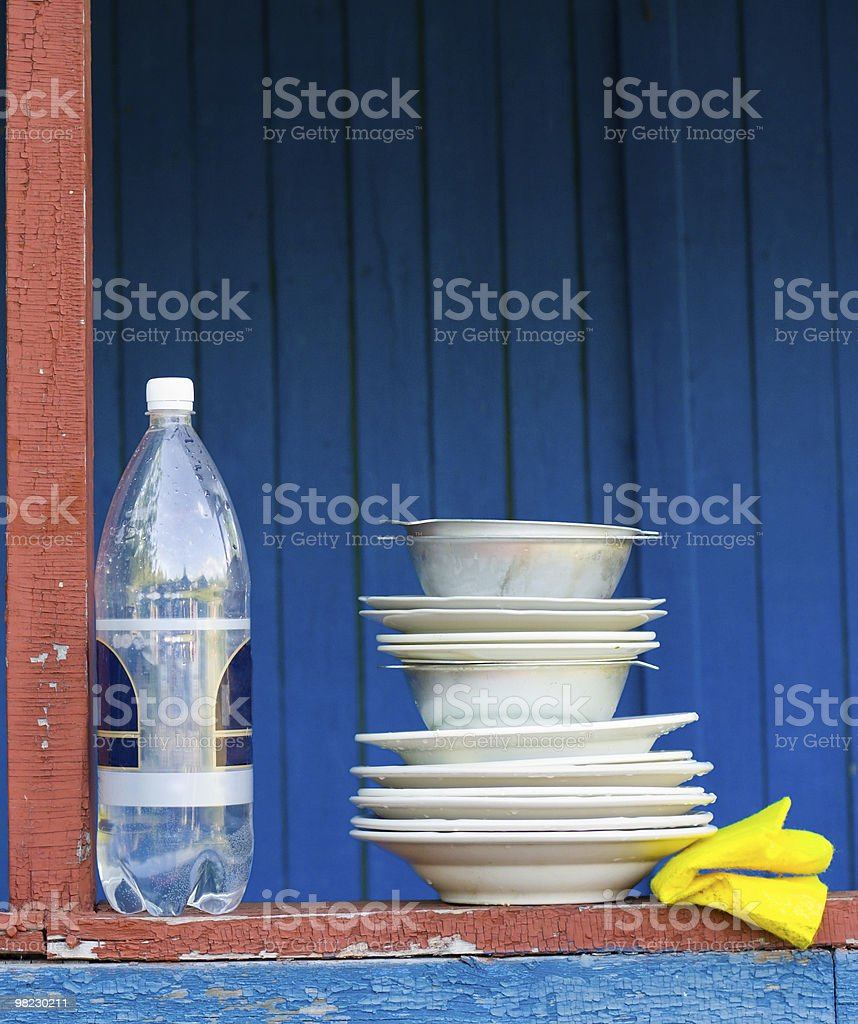 Dishes royalty-free stock photo