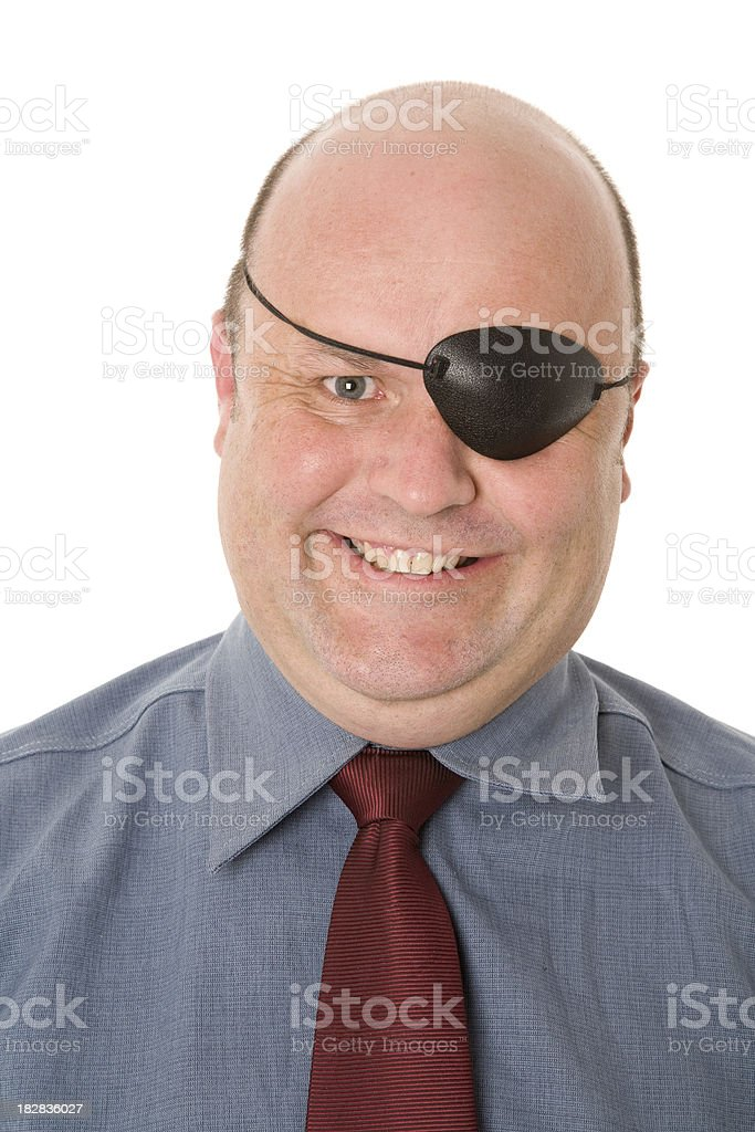 Dishonest Man stock photo