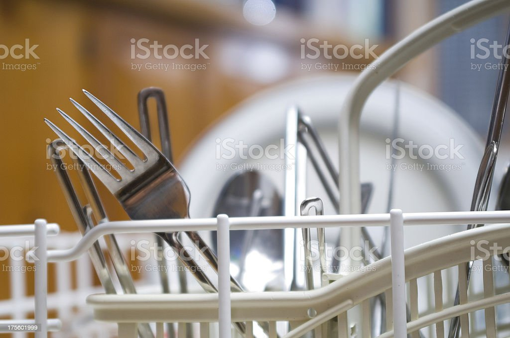dishrack stock photo