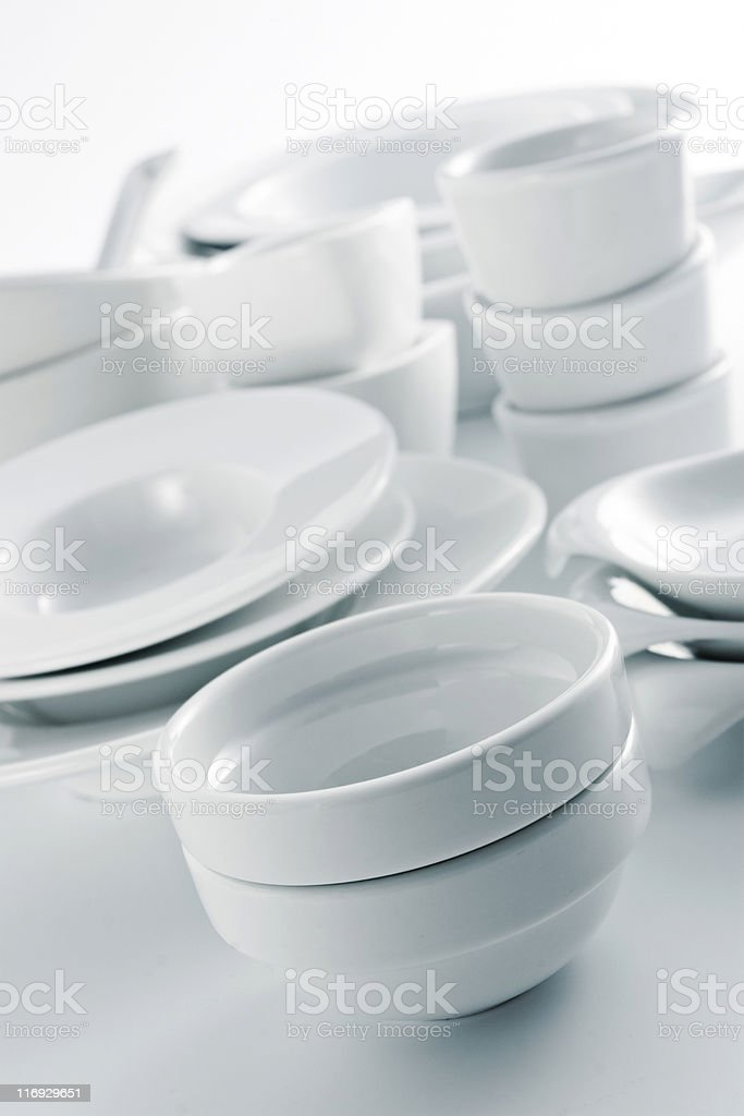 Dishware royalty-free stock photo