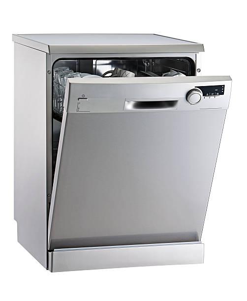 lavastoviglie - bacinella metallica foto e immagini stock