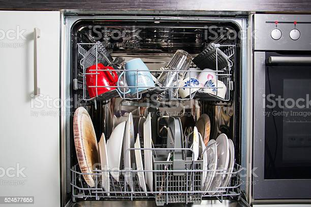 Dishwasher Stock Photo - Download Image Now