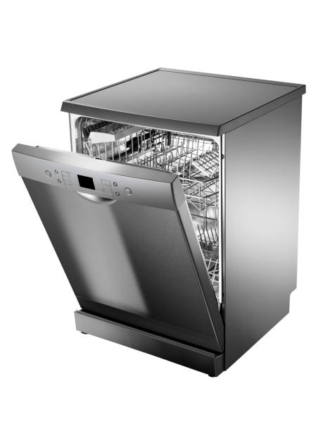 dishwasher - commercial dishwasher stock photos and pictures