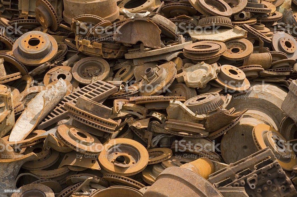 disk brakes royalty-free stock photo