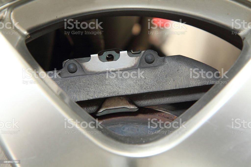 disk break caliper stock photo