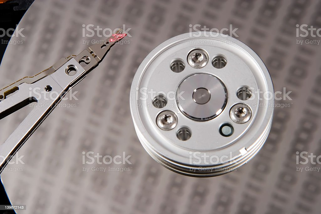 Disk Controller royalty-free stock photo