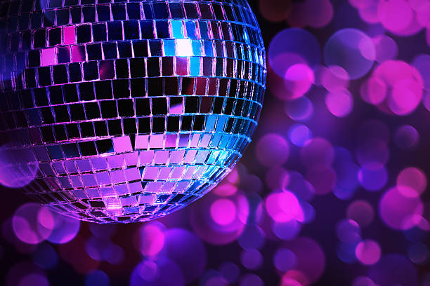 disco - disco ball stock pictures, royalty-free photos & images