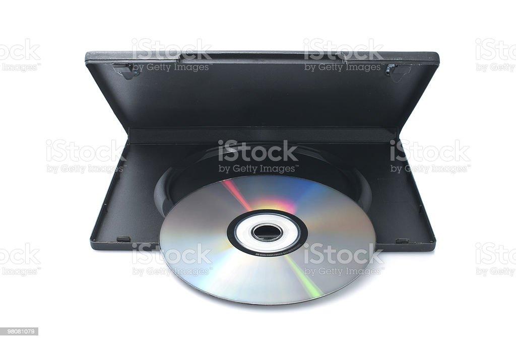 DVD 디스크 케이스 royalty-free 스톡 사진
