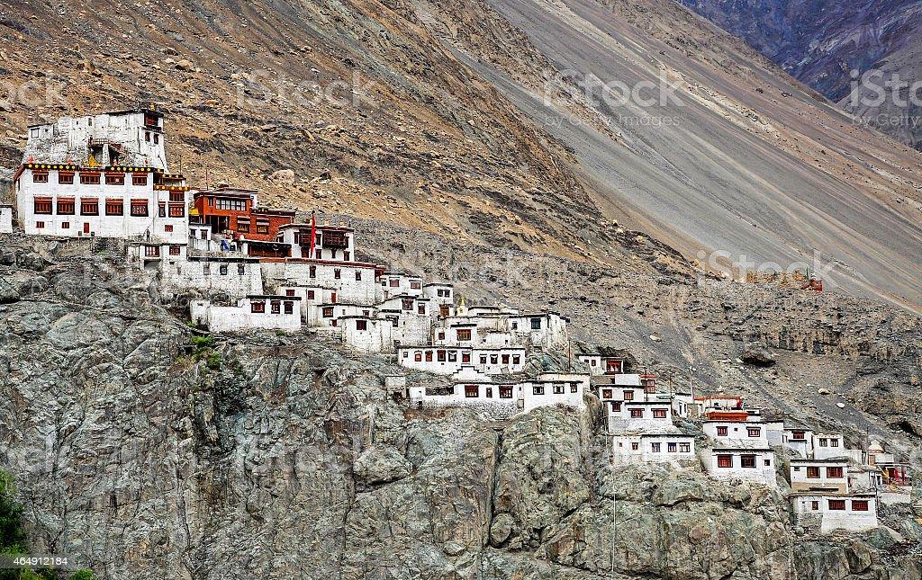 Diskit monastery stock photo