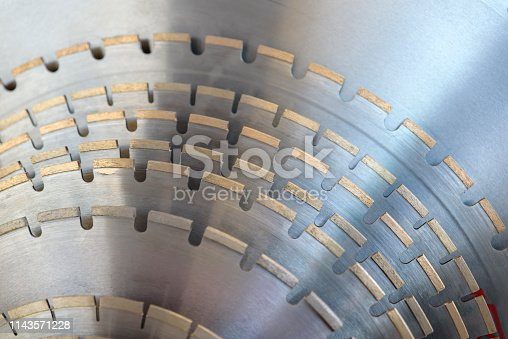 Disks for industrial circular saws