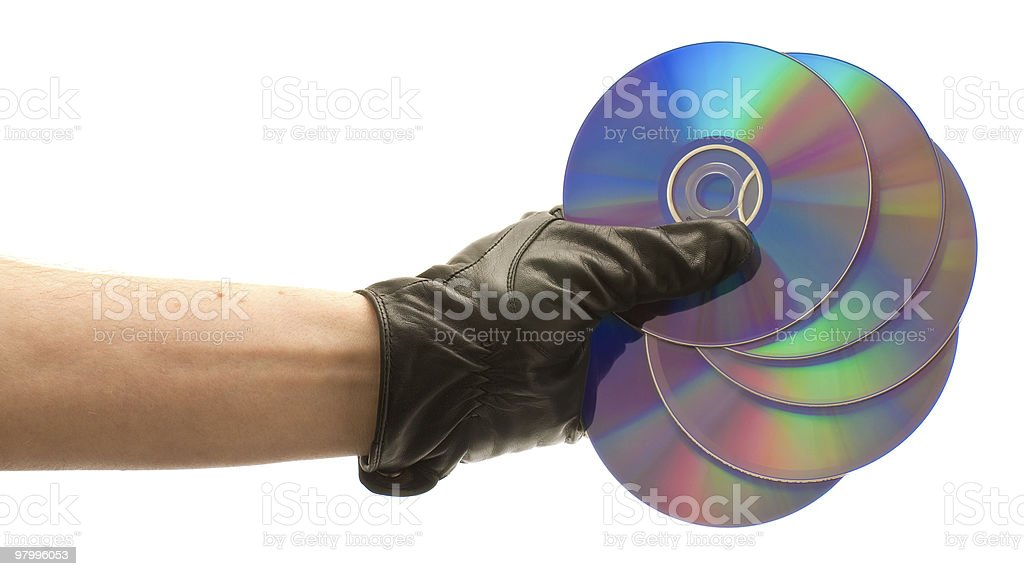 Disks royalty-free stock photo
