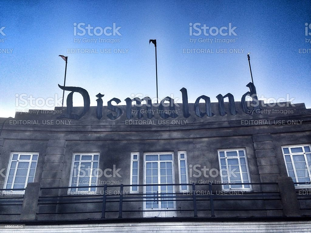 Dismaland Entrance stock photo