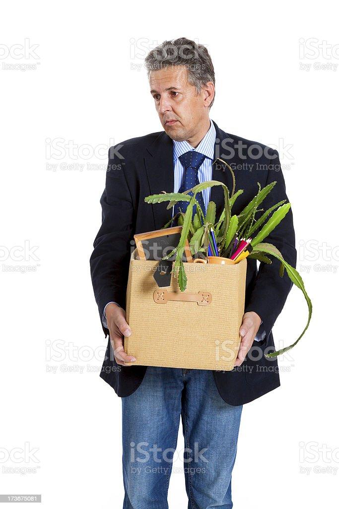 dismissal office employee royalty-free stock photo
