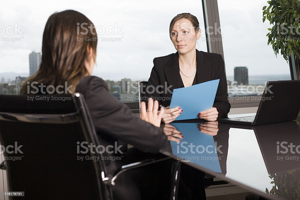 Dismissal stock photo
