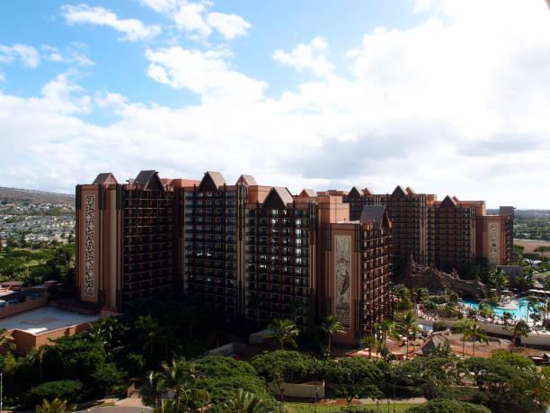 Disney Aulani Hotel on Oahu stock photo