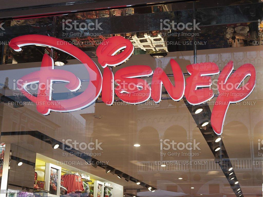 Disney store royalty-free stock photo