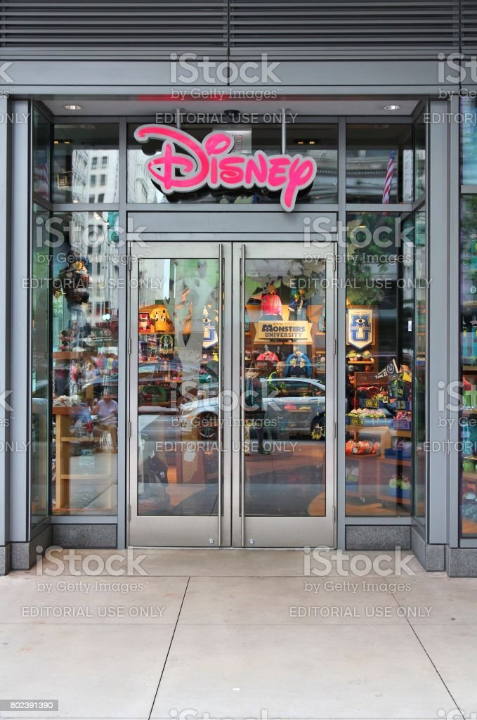 Disney Store stock photo