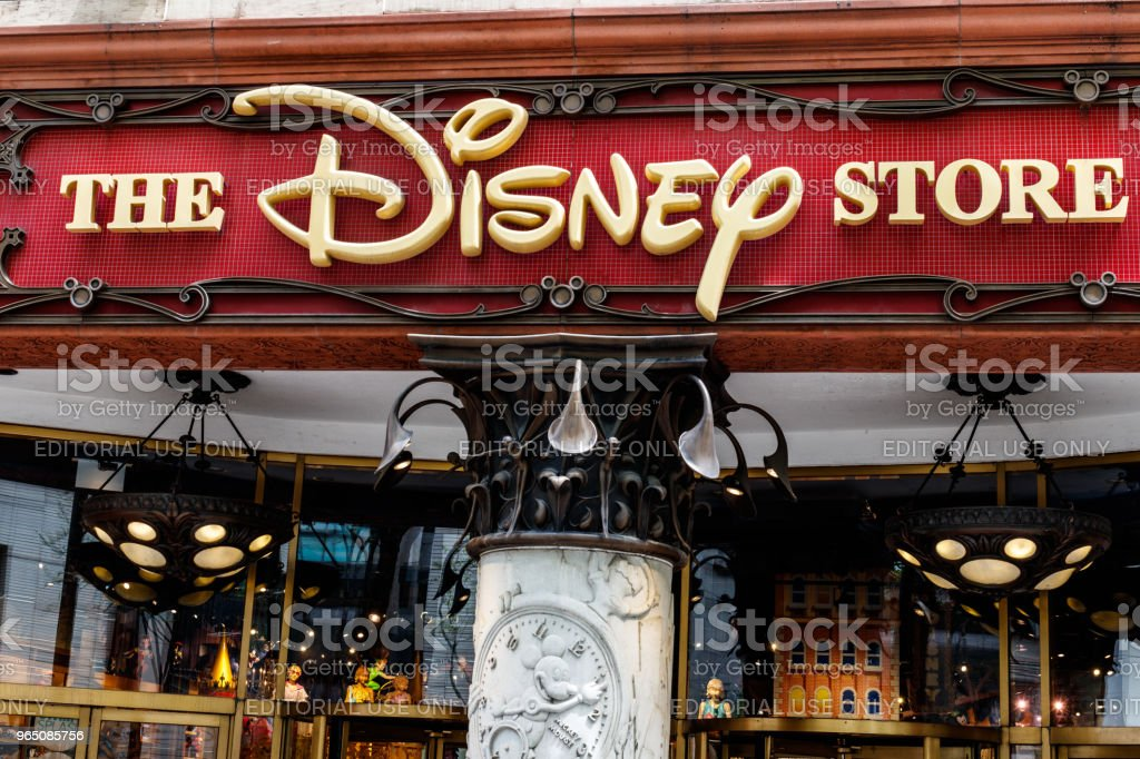 Disney Store Retail Mall Location. Disney Store is the Official Site for Disney Shopping II royalty-free stock photo
